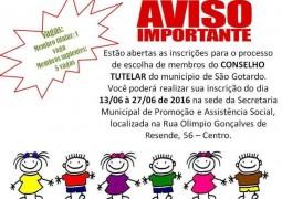 Conselho Municipal dos Direitos da Criança e do Adolescente abre edital para novos Conselheiros Tutelares