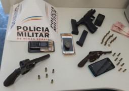 Revendedora de jóias sofre tentativa de assalto à mão armada em São Gotardo mas Polícia Militar age rápido e prende autores