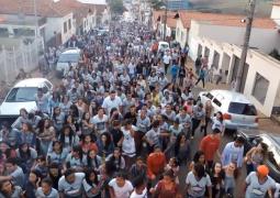 23ª Marcha para Jesus reúne centenas de pessoas em São Gotardo