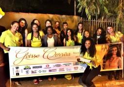 Candidata a Rainha da Fenacen 2016 Geisse Correa realiza blitz em São Gotardo e convoca sua torcida