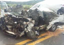 Uma pessoa morre e outra fica ferida em dois graves acidentes na BR-365