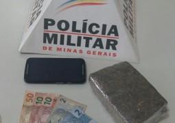Polícia Militar apreende droga que seria repassada em São Gotardo