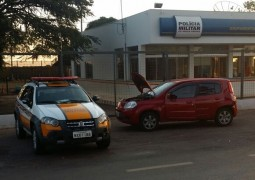 Polícia Militar Rodoviária realiza apreensão de veículo irregular na BR-354