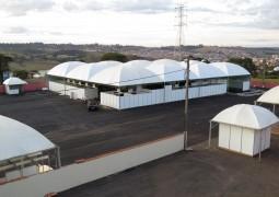 Parque de Exposições começa a tomar forma para a Fenacen 2016