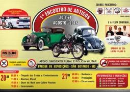 1º Encontro de Antigos acontece em São Gotardo nos próximos dias 20 e 21 de Agosto