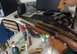 Polícia Militar antecipa crime e apreende cinco armas em São Gotardo