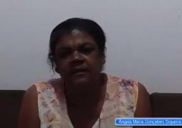 Senhora da cidade de Arapuá pede ajuda para realizar cirurgia nos olhos