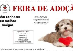 ASPA (Associação Sangotardense de Proteção Animal) realiza Feira de Adoção em São Gotardo