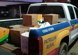 Polícia Militar de São Gotardo localiza e apreende defensivos agrícolas furtados em Campos Altos