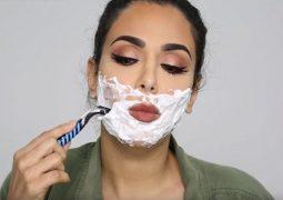 Raspar os pelos faciais vira moda entre mulheres em busca da pele perfeita