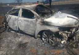 Motorista morre carbonizado em grave acidente na BR-262