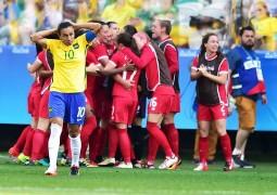 Brasil reage no fim, encerra jejum de gols, mas perde bronze para o Canadá
