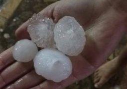 Após longo período de seca, chuva volta a cair no Alto Paranaíba e tempestade de granizo assusta moradores de Matutina e São Gotardo