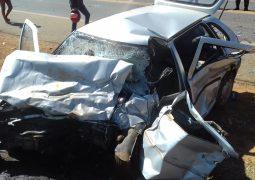 Homem morre em grave acidente envolvendo cinco veículos na MG-235 em São Gotardo