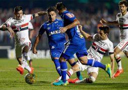 Cruzeiro é derrotado pelo São Paulo e continua saga por posição mais confortável na Série A