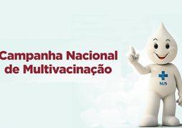 Campanha de Multivacinação 2016 tem como objetivo principal regularizar carteira de vacinação e vai dura até o próximo dia 30