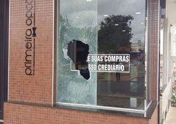 Loja no centro de São Gotardo é furtada durante a madrugada desta quinta-feira