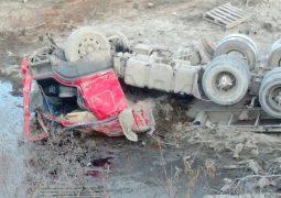 Motorista de Patos de Minas morre em grave acidente na BR-354