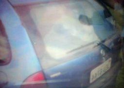 Carro é roubado no trevo de Ibiá e proprietária pede ajuda para recupera-lo