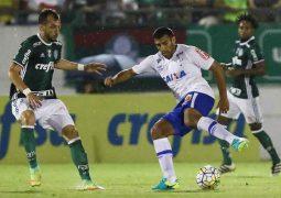 Cruzeiro segura o líder Palmeiras, chega ao terceiro jogo sem derrota e mantém 12º lugar