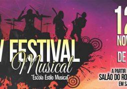 Escola Estilo Musical completa 16 anos e realiza V Festival Musical em São Gotardo