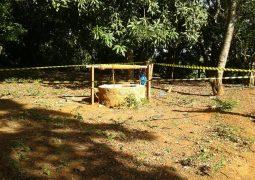Moradores encontram partes de corpo humano em cisterna na zona rural de Rio Paranaíba