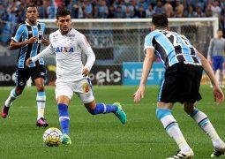 Cruzeiro passa em branco, empata com o Grêmio e tem eliminação melancólica na Copa do Brasil