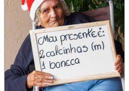 Lar do Idoso de São Gotardo realiza campanha de natal criativa e emocionante em 2016