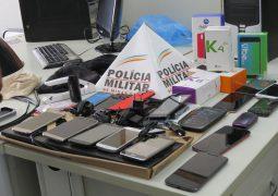 Três pessoas são presas pela PM após assaltarem loja em Guarda dos Ferreiros
