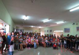 Escola Estadual Coronel Oscar Prados realiza o Primeiro Dia da Família na Escola