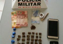 Em atitude suspeita, jovens são detidos e droga é localizada em Guarda dos Ferreiros