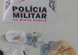 Mulher é presa e três adolescentes são apreendidos em São Gotardo pelo crime de tráfico de drogas