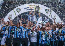Atlético empata no fim, mas vê Grêmio festejar penta da Copa do Brasil