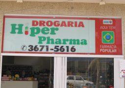 Precisou de medicamentos? Drogaria Hiper Pharma 1, a sua farmácia de plantão em São Gotardo