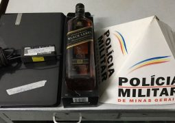 Boate (Lounge) é furtada em São Gotardo e menor é apreendido pelo crime de receptação