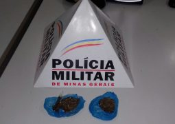 Jovens são presos com drogas no centro de São Gotardo