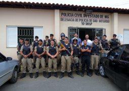 Após operações das Polícias Civil e Militar, quatro pessoas são presas em São Gotardo e Guarda dos Ferreiros