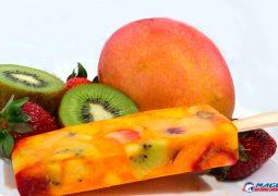 SG RECEITAS: Picolé salada de frutas