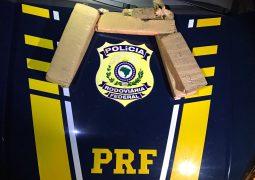 Homens são presos na BR-365 em Patos de Minas transportando mais de 5 kg de maconha