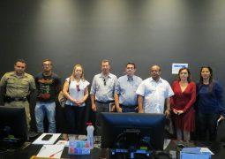 Cidade monitorada. Portal SG AGORA acompanha visita a Central de Videomonitoramento da PM em Araxá