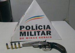 Polícia Militar Rodoviária prende homem na BR-354 com arma e munição