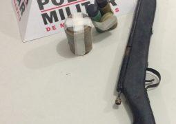 Senhor de 63 anos de idade é preso após atirar contra policiais em São Gotardo