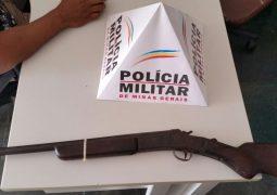 Final de semana. Polícia Militar realiza apreensões de arma e drogas em São Gotardo e Guarda dos Ferreiros