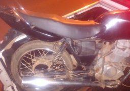 Foragido da polícia é preso em Rio Paranaíba com motocicleta furtada em São Gotardo