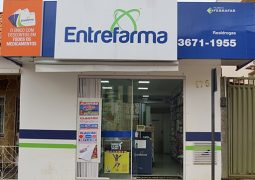 Rede Entrefarma Unidade 2, sua farmácia de plantão em São Gotardo