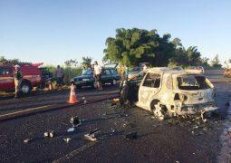 Grave acidente na MGC-462 entre Patrocínio e Perdizes deixa cinco pessoas mortas e vários feridos