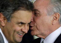 Lava-Jato: As cenas que provam a entrega de propina aos indicados de Temer e Aécio Neves