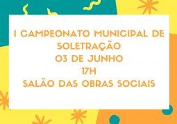 Secretaria de Educação, Cultura e Turismo de São Gotardo convida a população para a final do 1° campeonato municipal de soletração
