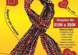 Famílias recebem doações da 4º Campanha do Agasalho de São Gotardo