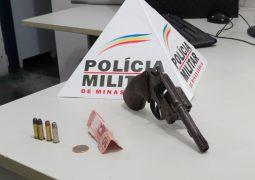 Criminosos assaltam supermercado em São Gotardo mas são presos pela Polícia Militar